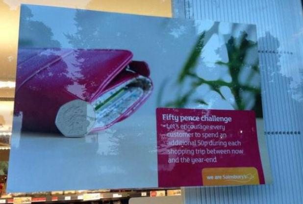 Sainsbury's 50p image